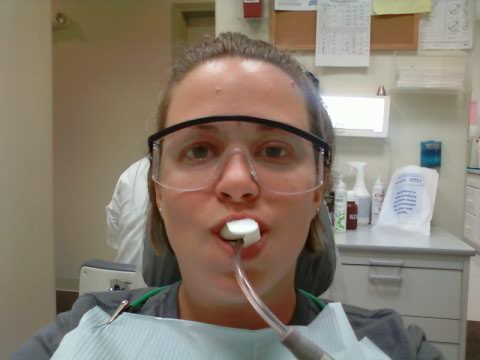 47/365 Jo at dentist