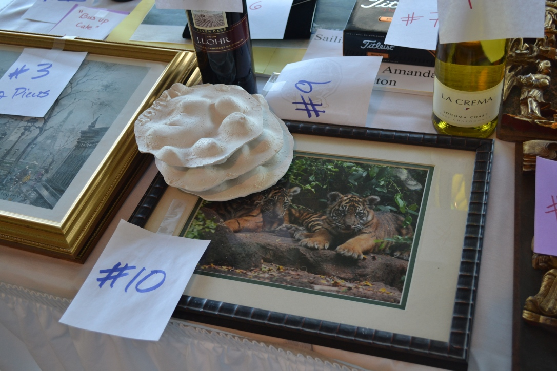 Paw prints at auction