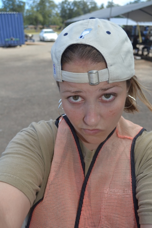 Not pleased with being paintballed