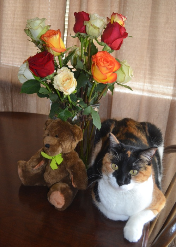 Leena and roses