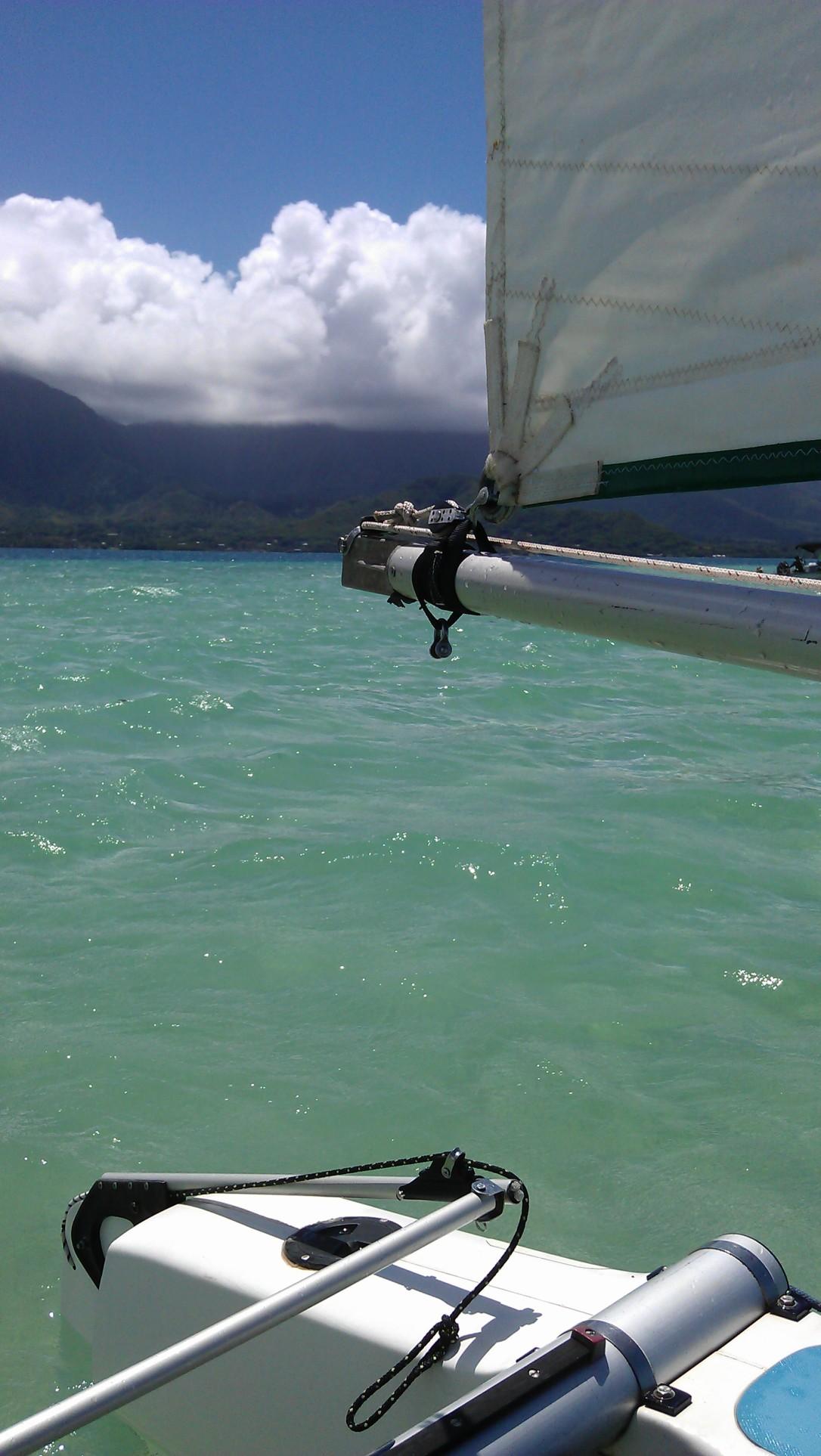 Sailing view 1