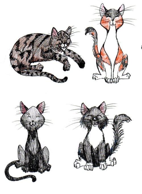 doodle kitties