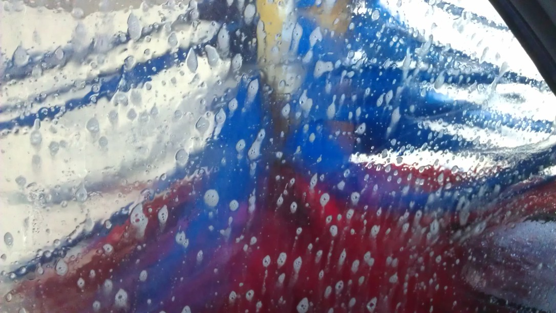 carwash: the view from inside