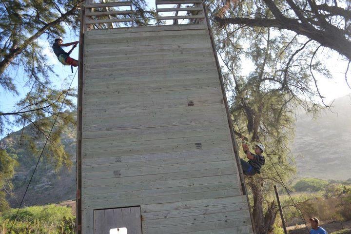 Erdman climbing wall