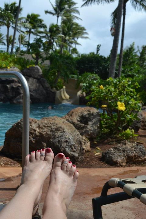 Turtle Bay pedi