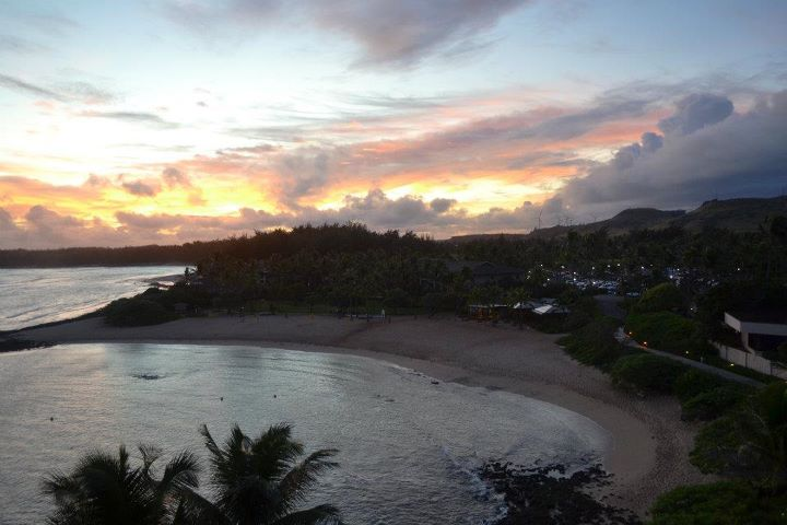Turtle Bay sunrise