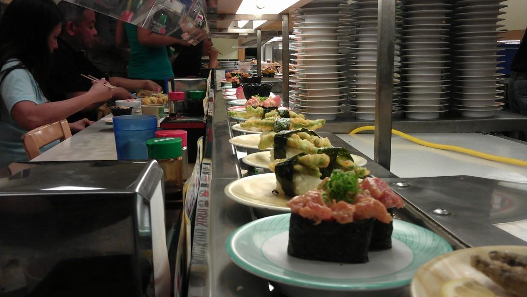 1/6/12 sushi dinner