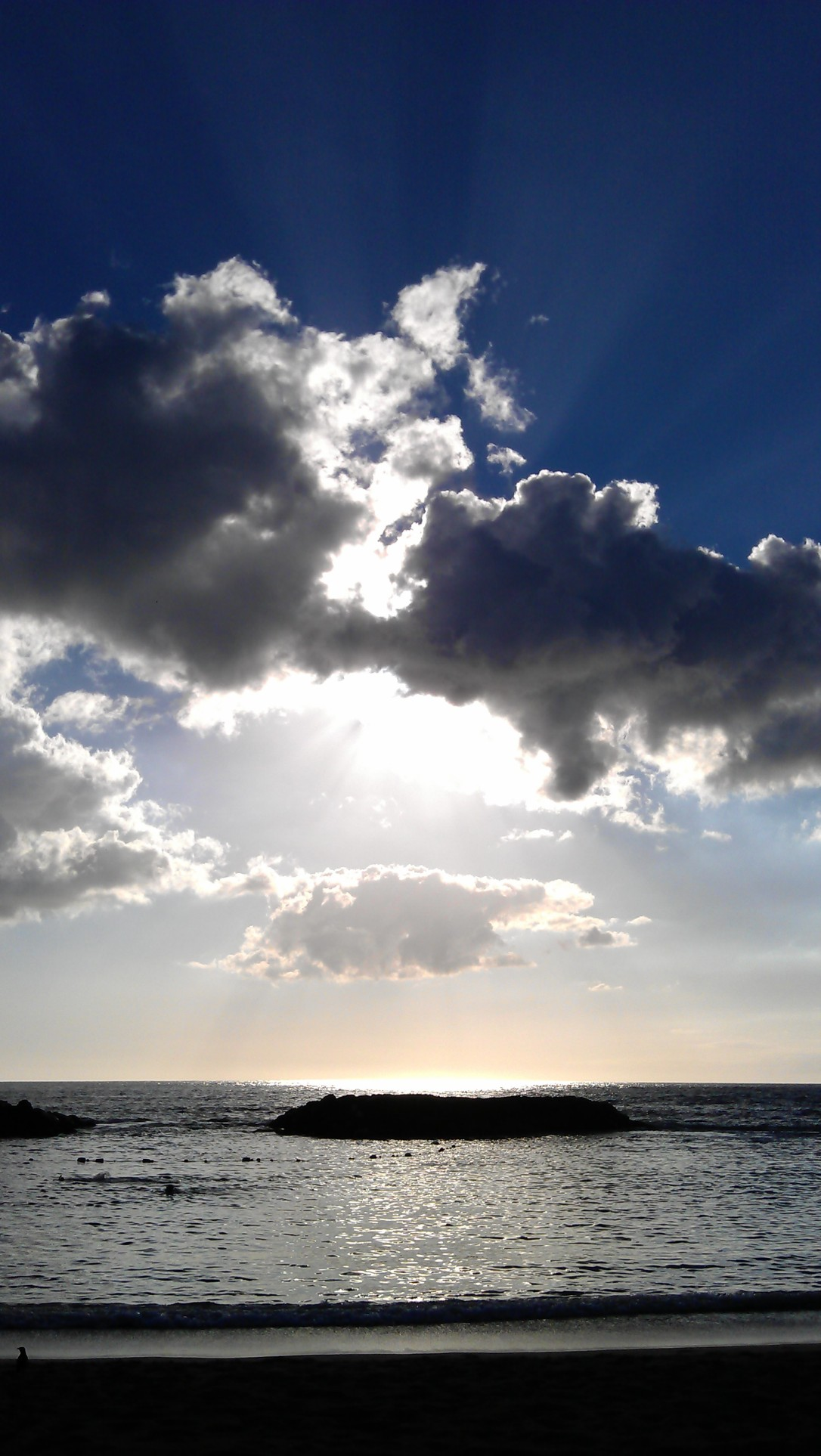 1/9/2012 beachy afternoon clouds