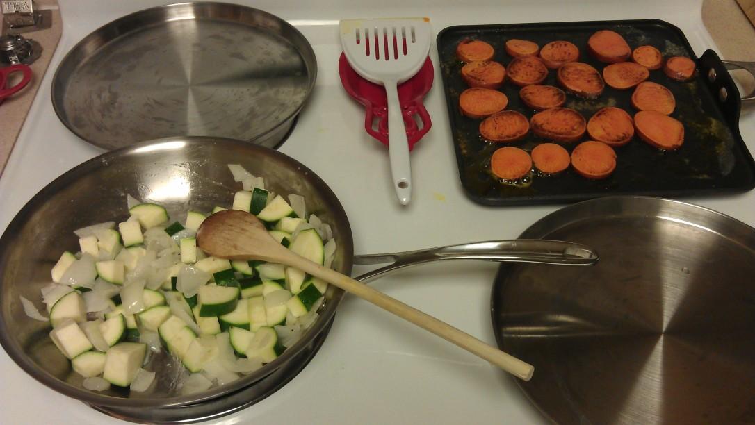 1/16/2012 veggie supper