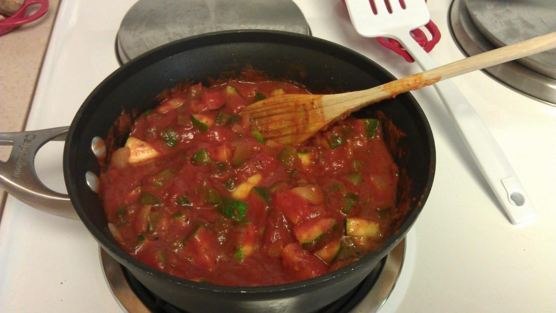 2/5/2012 zucchini sauce