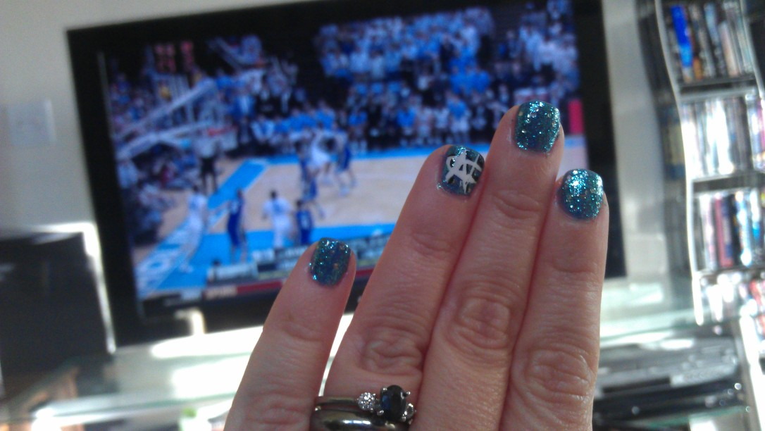 2/8/2012 watching the UNC-Dook game