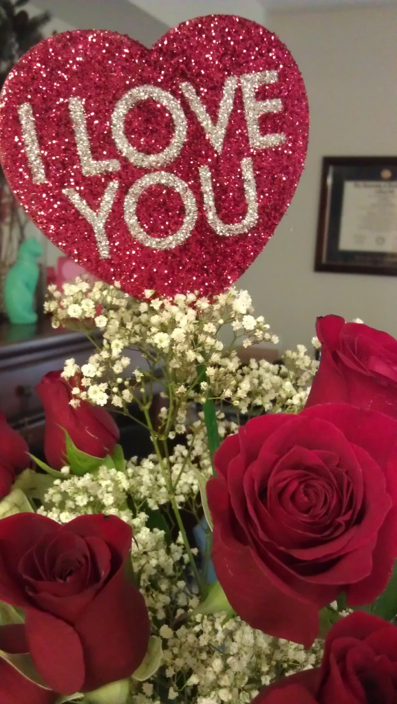 2/10/2012 Valentine's roses