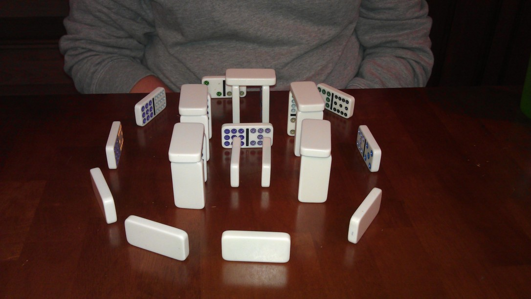 2/22/2012 Domino-henge