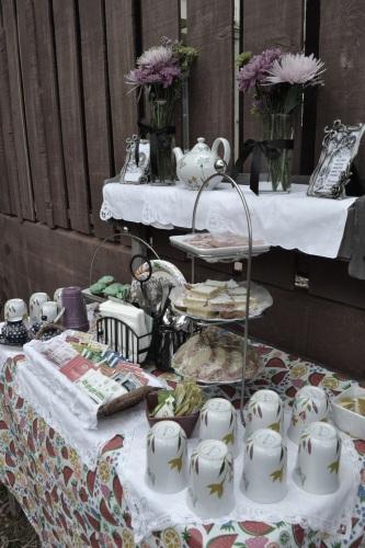 Mad Hatter tea table