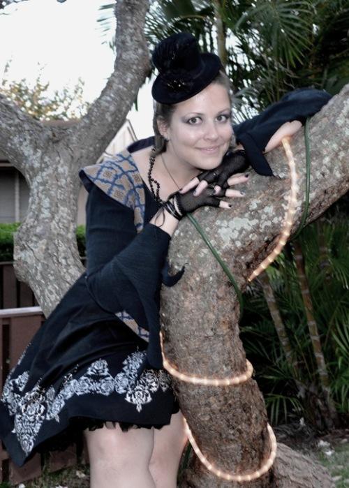 Mad Hatter tea tree portrait