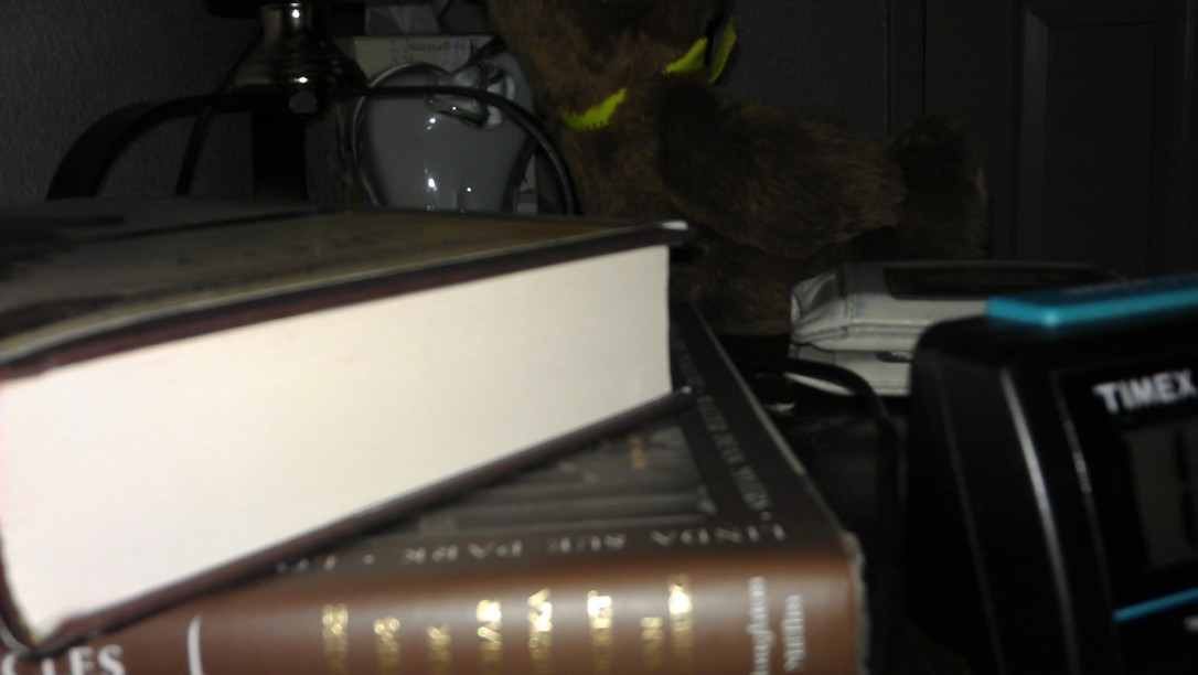 3/12/2012 bedside table
