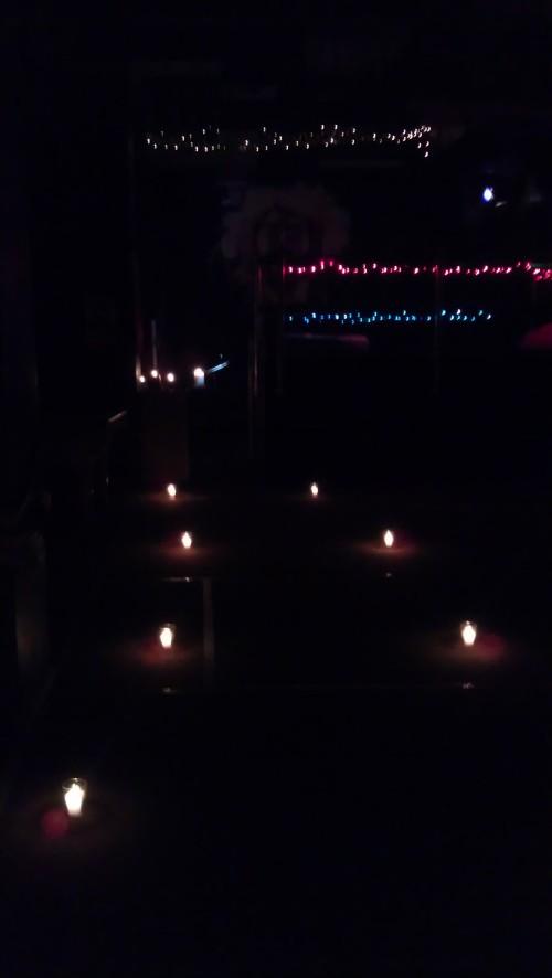 4/4/2012 Tenebrae candles