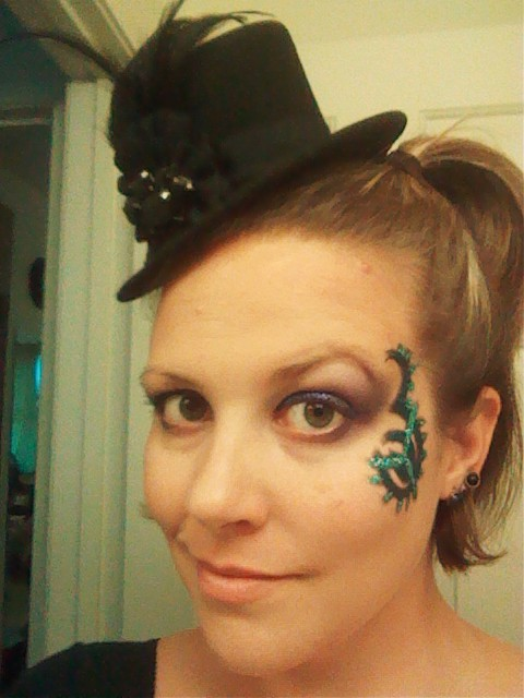 4/14/2012 mad hatter tea party hat