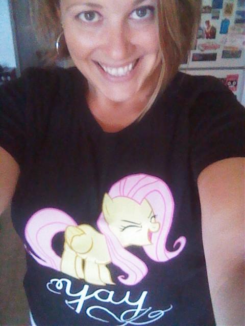 4/30/2012 Fluttershy shirt