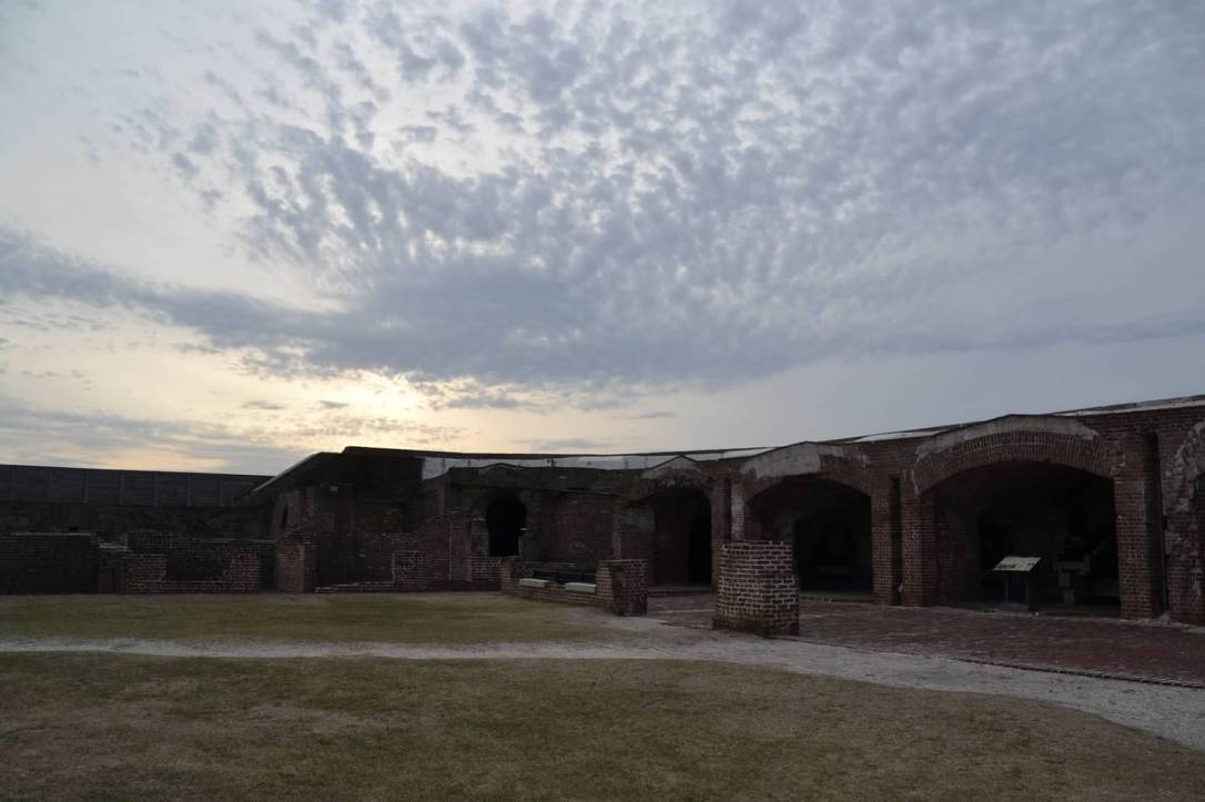 Fort Sumter interior