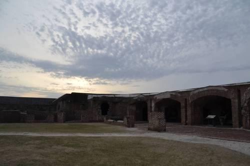 Fort Sumter interior