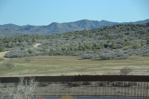 Arizona roadtrip, MX border fence