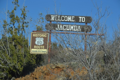 Arizona roadtrip, historic route 80 Jacumba
