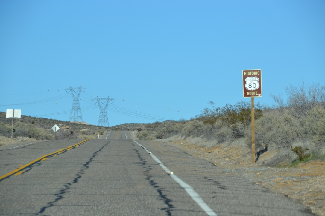 Arizona roadtrip, historic route 80