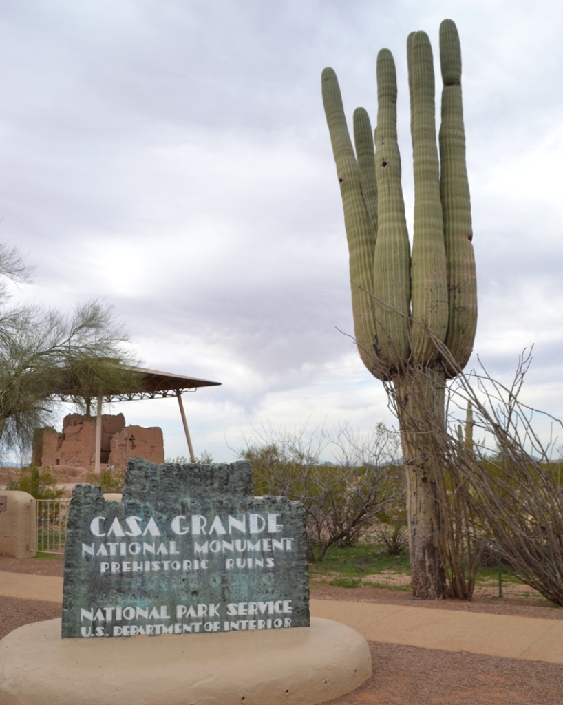 Casa Grande, Arizona, sign