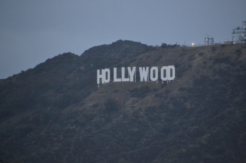 LA Hollywood sign