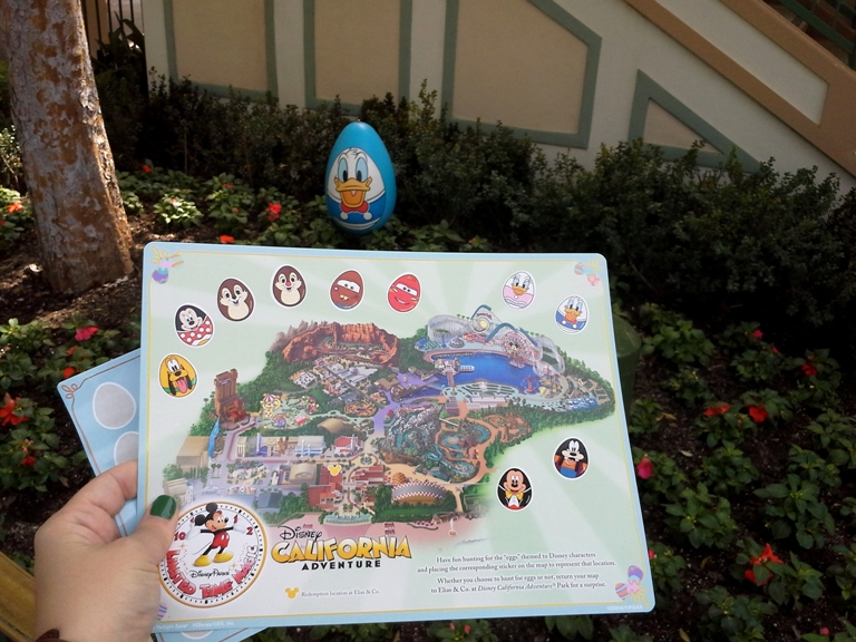 Disneyland egg hunt