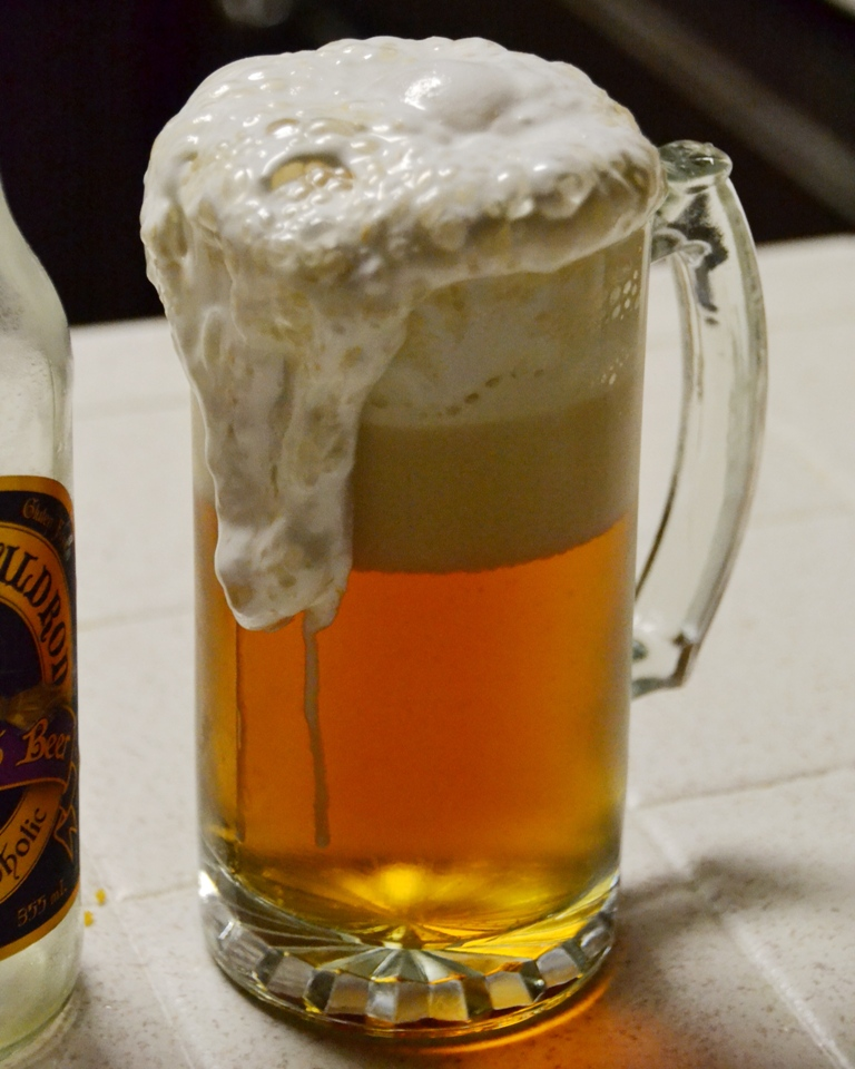 Butterbeer foam