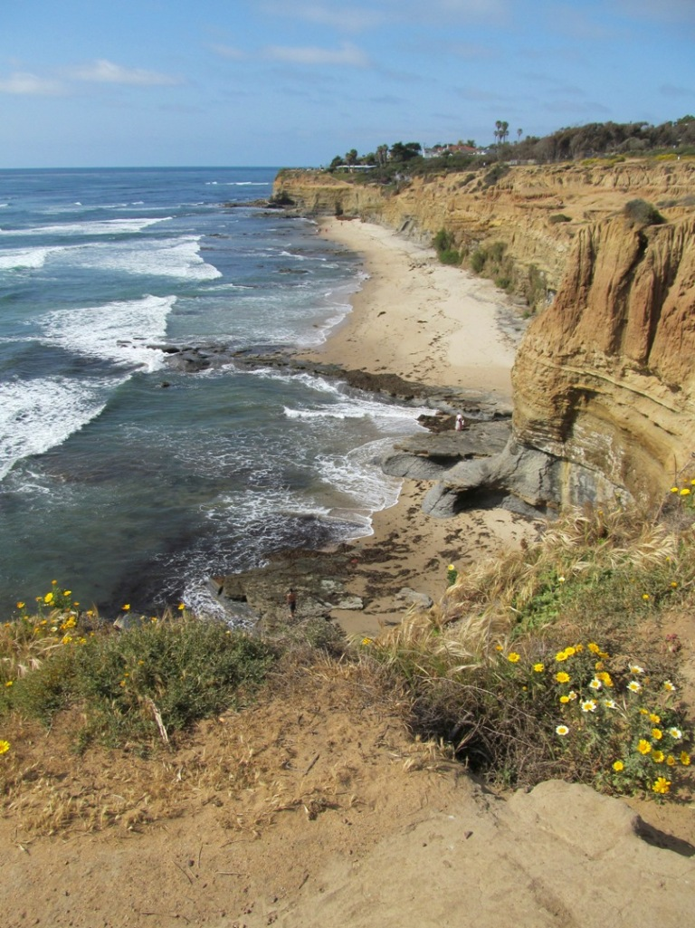 Sunset Cliffs, beach