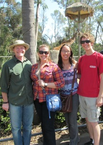 Zoo group photo