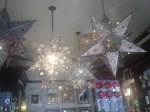 Old Town tin stars