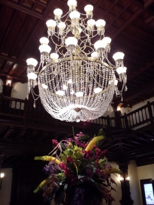 Hotel del Coronado, chandelier