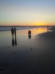 Hotel del Coronado, sunset beach