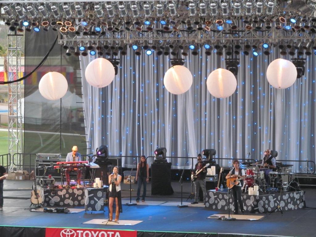 Colbie Caillat concert, SD fair