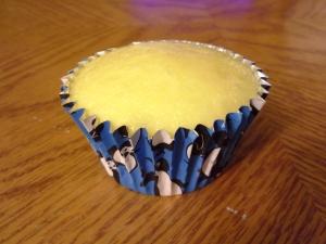 cupcake, plain