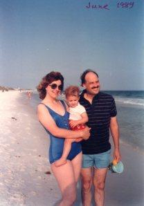 old photo on the Gulf Coast