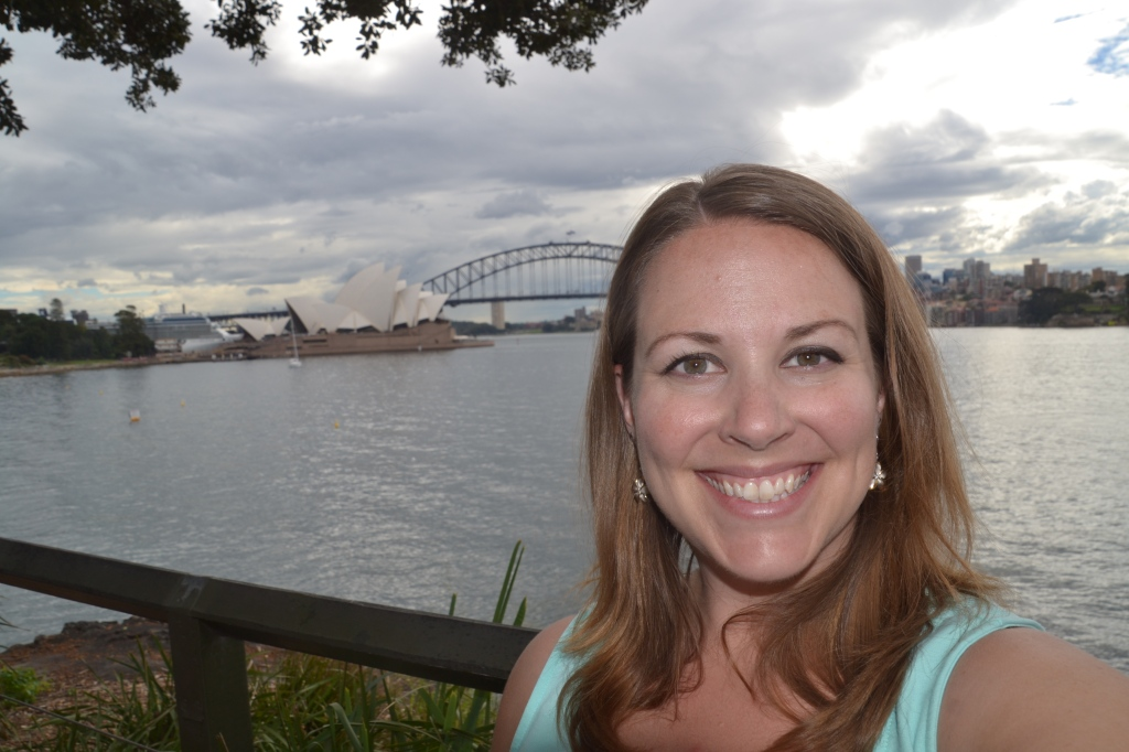 Australia Jo at the Opera House