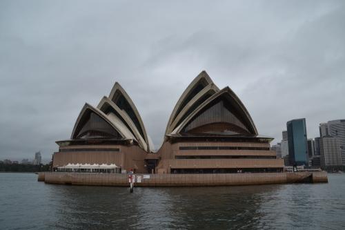 Australia, Sydney Opera House from water