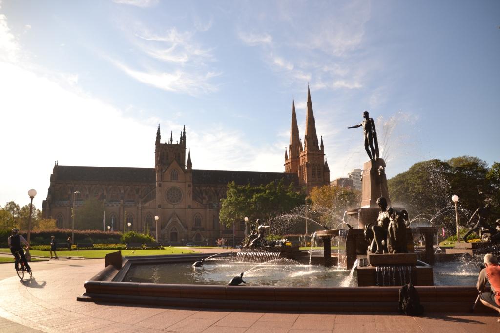 Australia, Sydney Saint Mary's morning