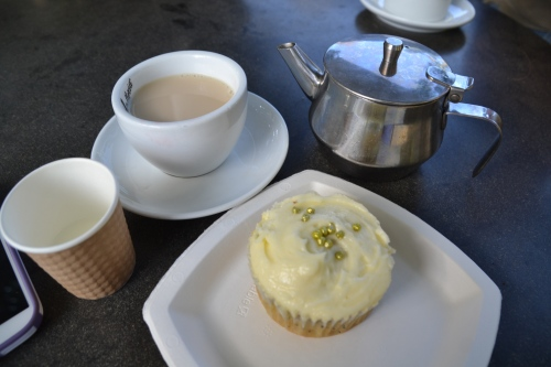 Australia, Sydney Royal Botanical Gardens tea and cake