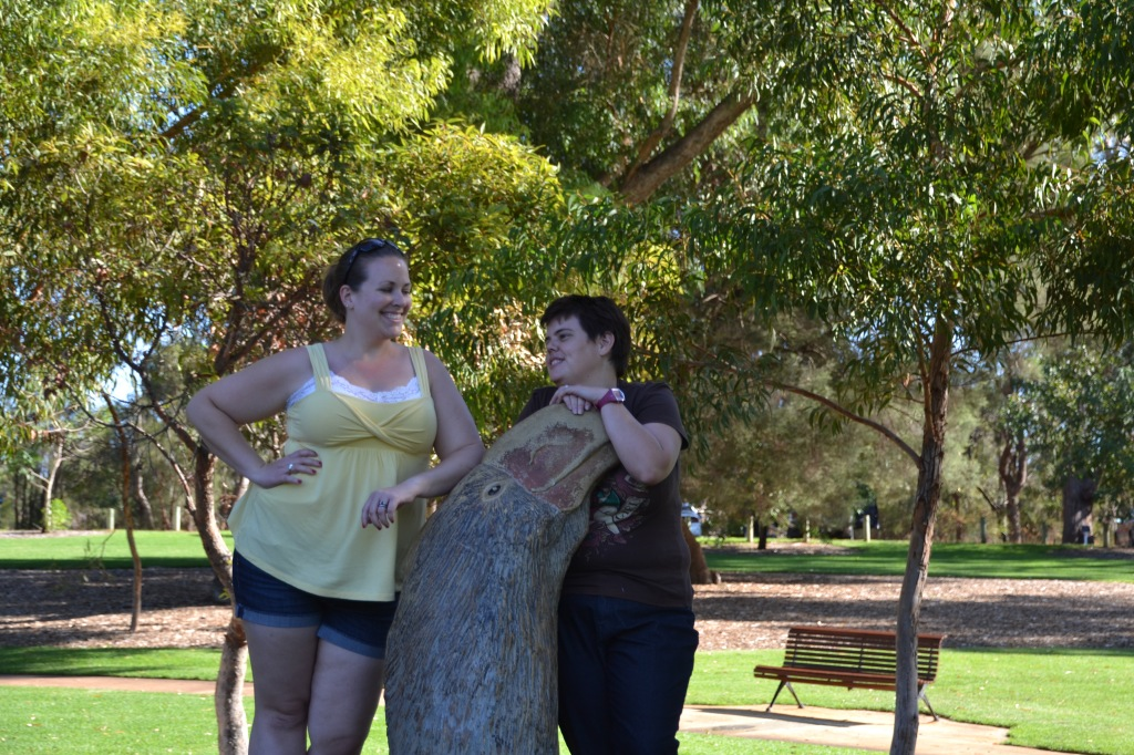 Australia, Perth King's Park statue