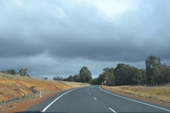 Australia, WA open road