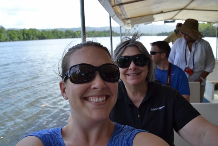 Australia, Port Douglas, crocodile cruise