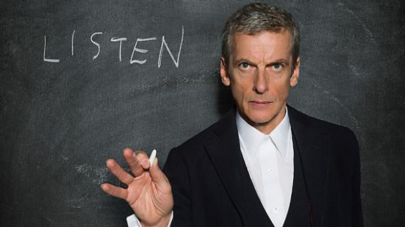 Capaldi Doctor Who Listen