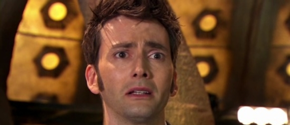 David Tennant Doctor Who crying