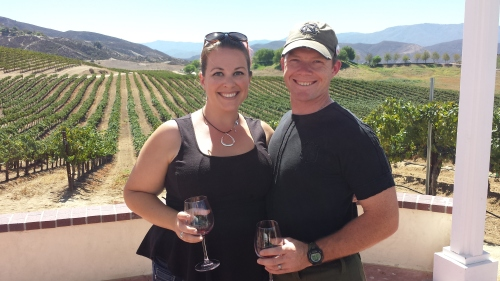 Jo and J in Temecula, 2014